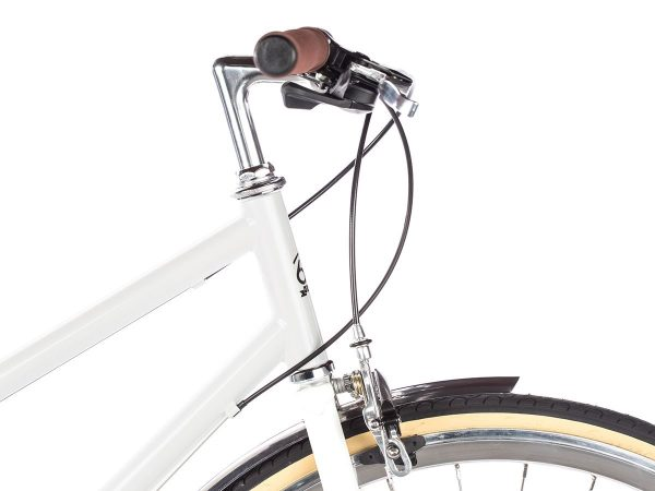 6KU Odessa City Bike 8 Speed Coney White-509