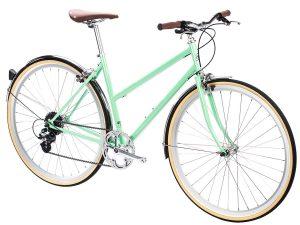 6KU Odessa City Bike 8 Speed Elysian Green-512