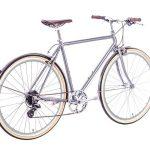 6KU Odyssey City Bike 8 Speed Brandford Silver-435