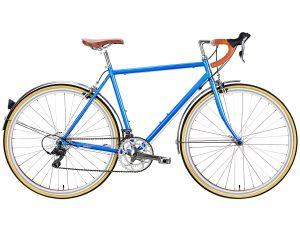 6KU Troy Stadtfahrrad 16 Speed Windsor Blau