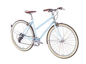 6KU Odessa City Bike 8 Speed Maryland Blue-520
