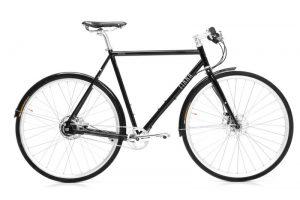 Finna Cycles Avenue Stadtfahrrad 8 Speed Schwarz