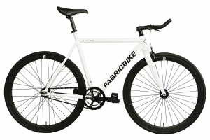 FabricBike Fixed Gear Fahrrad Light - Weib-0