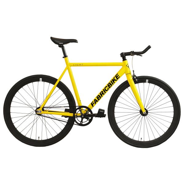 FabricBike Fixed Gear Fahrrad Light – Gelb-0