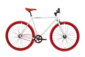 FabricBike Fixed Gear Fahrrad - Weib / Rot-0