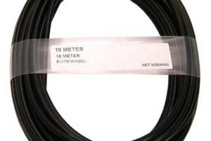 XLC Bremse Kabel auben 10M 5mm TEF ZW-0
