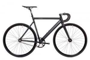 State Bicycle Co. Fixie Fahrrad Black Label V2 - Matte Schwarz-0
