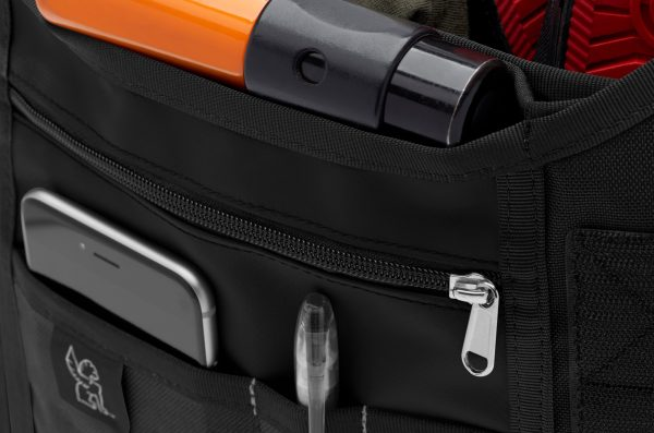 Chrome Industries Mini Metro Messenger Bag- Black/Black-5700