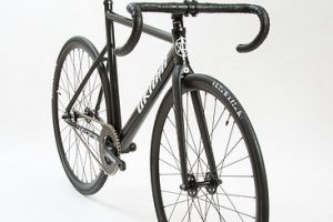 Unknown Bikes Fixed Gear Bike PS1 - Black-3276