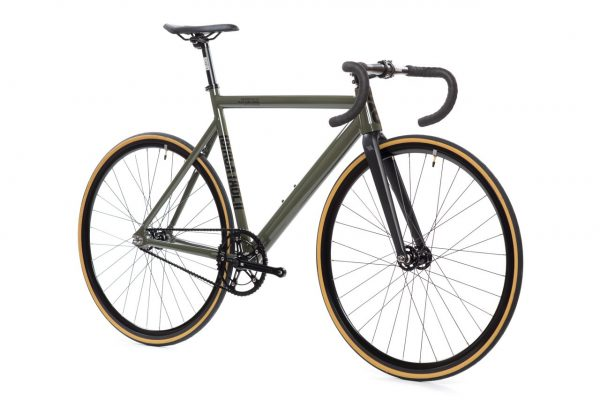 State Bicycle Co Fixed Gear Black Label v2 – Army Green-5933