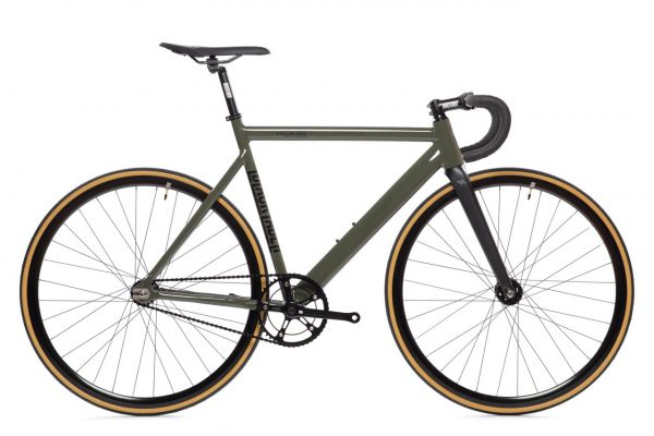 State Bicycle Co Fixed Gear Black Label v2 – Army Green-5939
