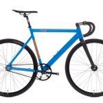 State Bicycle Co Black Label v2 Fixie Fahrrad - Typhoon Blau-0