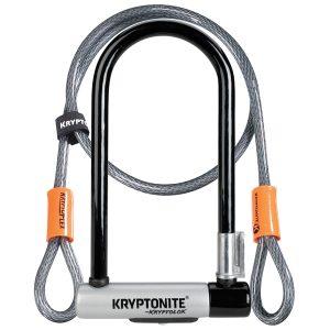Kryptonite Kryptolok2 Sperren + Kabel 120CM-0