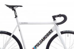 Poloandbike Williamsburg Fixed Gear Bicycle White-6164
