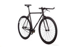 Quella Fixed Gear Bike Nero - Black-6951