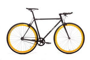 Quella Fixed Gear Faharrd Nero - Gelb-0