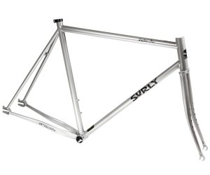 Surly Steamroller Track Frame Kit 700C Grau-0