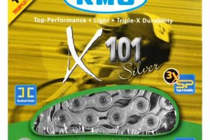 KMC singlespeed X101 Kette-0