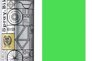 Spray.bike Fahrradfarbe Fluorescent Kollektion - Fluorescent Green-0