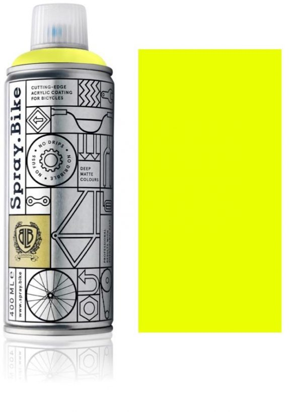Spray.bike Fahrradfarbe Fluorescent Kollektion – Fluorescent Yellow-0