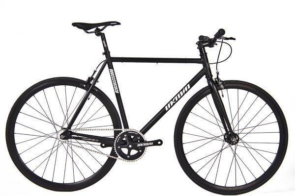 Unknown Bikes Fixie 4130  Fahrrad SC-1 – Schwarz-0