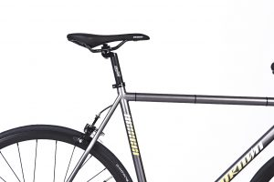 Unknown Bikes Fixed Gear Bike SC-1 - Gray -7957