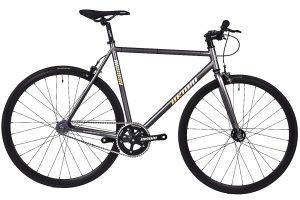Unknown Bikes Fixie 4130 Fahrrad SC-1 - Grau-0