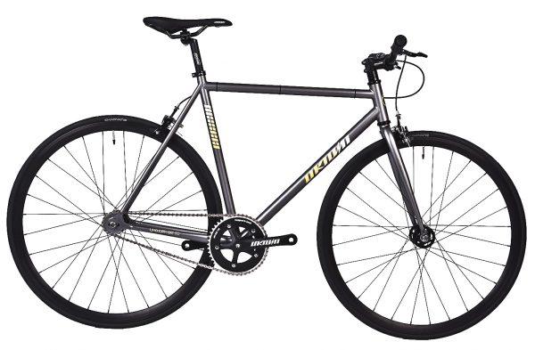 Unknown Bikes Fixie 4130 Fahrrad SC-1 – Grau-0