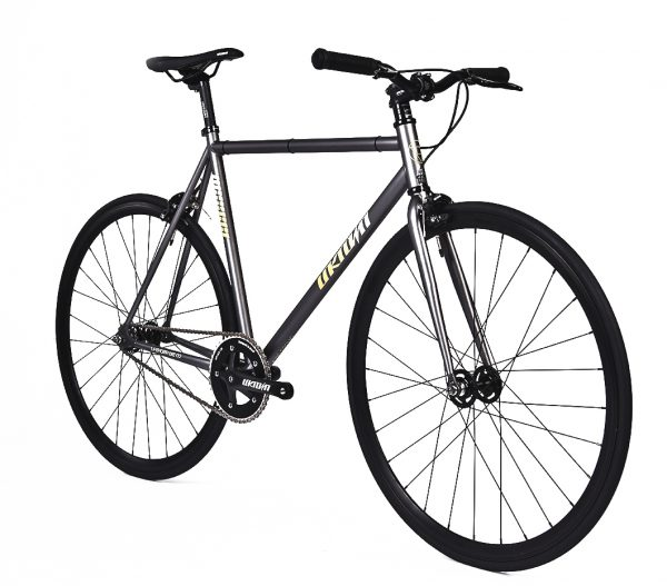 Unknown Bikes Fixed Gear Bike SC-1 – Gray -7959