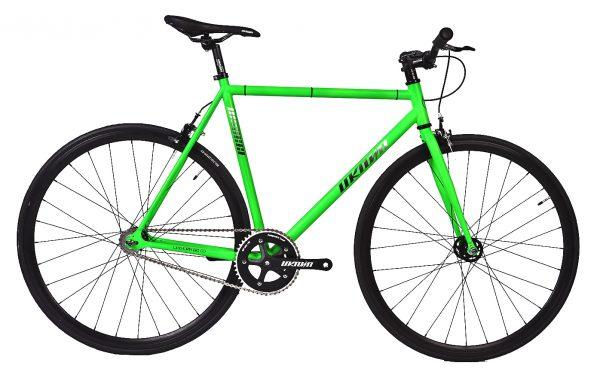 Unknown Bikes Fixie 4130 Fahrrad SC-1 – Grün-0