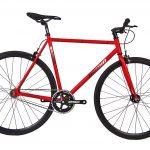 Unknown Bikes Fixie 4130  Fahrrad SC-1 – Rot-0