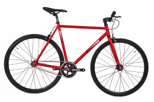 Unknown Bikes Fixie 4130 Fahrrad SC-1 - Rot-0