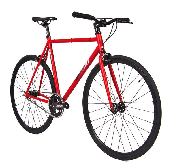 Unknown Bikes Fixed Gear Bike SC-1 – Red -7949