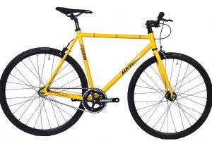 Unknown Bikes Fixie 4130 Fahrrad SC-1 - Gelb-0