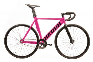 Unknown Bikes Fixed Gear Fahrrad Singularity - Rosa-0