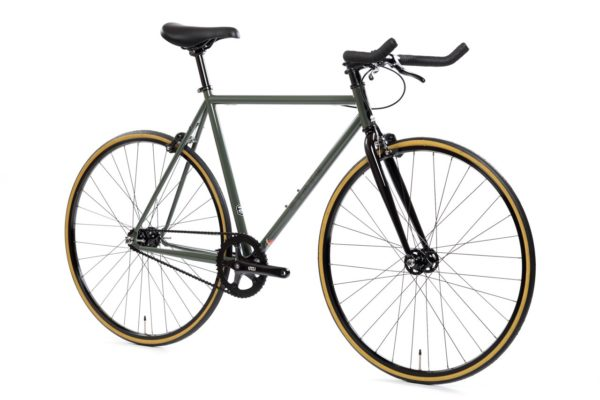 State_bicycle_fixie_army_green_bull_horns
