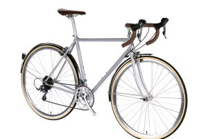 6KU Troy City Bike 16 Speed Highland Grey-449