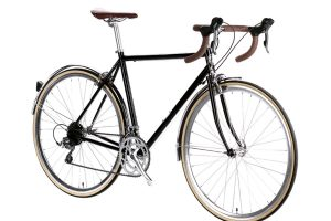 6KU Troy City Bike 16 Speed Del Rey Black-445