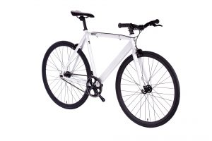 6KU Fixed Gear Track Bike White-641