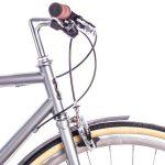6KU Odyssey City Bike 8 Speed Brandford Silver-434