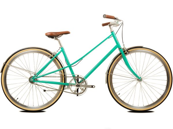 BLB Cleo Single Speed Ladies Bike Emerald