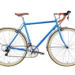 6KU Troy City Bike 16 Speed Windsor Blue