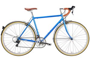 6KU Troy Stadtfahrrad 16 Speed Windsor Blau