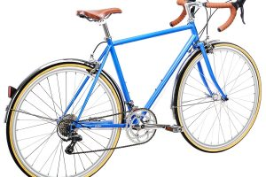 6KU Troy City Bike 16 Speed Windsor Blue-453