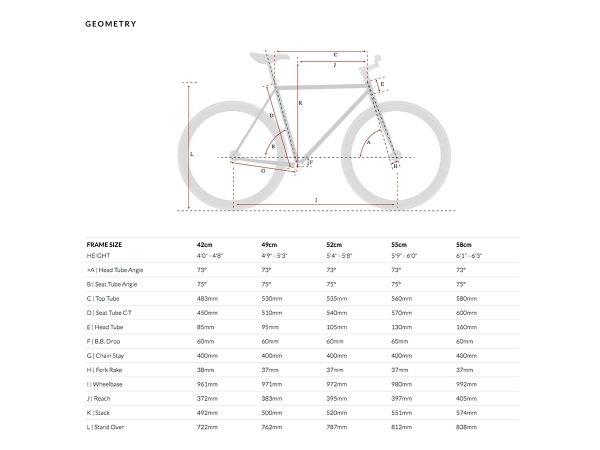 6KU Fixed Gear Bike - Beach Bum-567