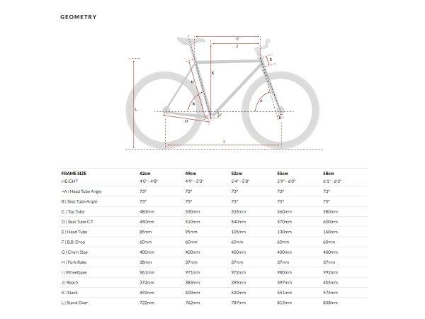 6KU Fixed Gear Bike - Nebula 2-612