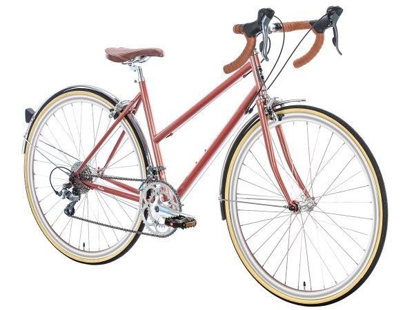 6KU Helen Stadsfiets 16 Speed Rose Goud-506