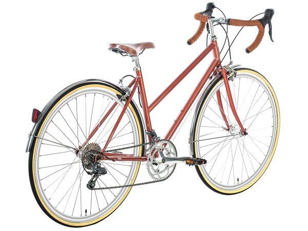 6KU Helen Stadsfiets 16 Speed Rose Goud-505