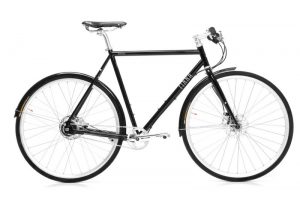 Finna Cycles Avenue City Bike 8 Speed Dark Black