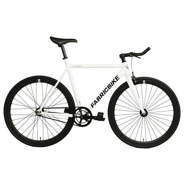 FabricBike Fixed Gear Fahrrad Light - Weib-0